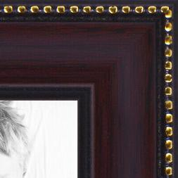 """ArtToFrames Custom Picture Poster Frame Brown Mahagony 1"""" Wi"""