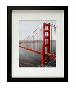 Frametory, 11x14 Black Picture Frames - Made to Display Pict