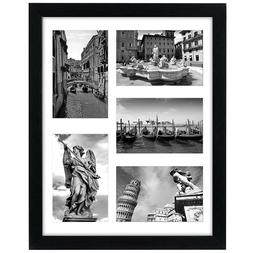 Americanflat 11x14 Collage Picture Frame - Display Five 4x6