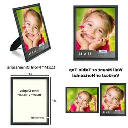 Icona Bay 11X14 Picture Frame , Black Photo Frame 11 X 14, C