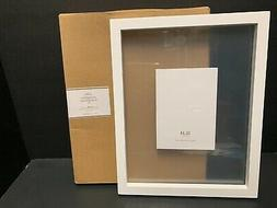 11x14 Pottery Barn WALL Floating Wood Gallery FRAME Photo Ch