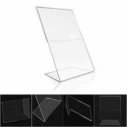 12 ct Acrylic 4x6 Sign Holders Picture Frames Bulk  Vertical