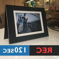 120s PHOTO FRAME CARD  RECORD chip sound music voice musical