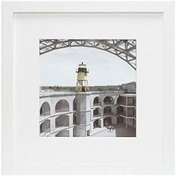- Frametory, 12x12 White Picture Made Display Pictures 8x8 P