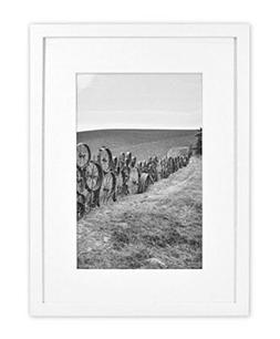 Golden State Art, 12x16 Wall Photo White Wood Frame Collecti