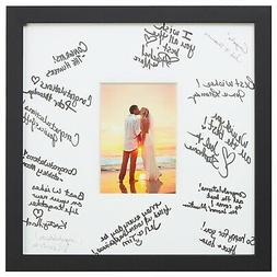 Craig Frames 14 x 14 Wedding Signature Picture Frame Matted