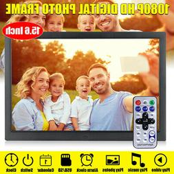 15'' 1080P HD LCD Digital Photo Frame Picture MP4 Movie Play
