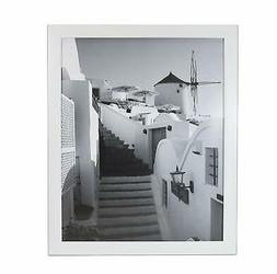 Golden State Art, 16x20 White Wood Picture Frame, 1-1/4-Inch