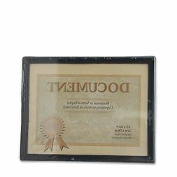 """2 Pcs Document Diploma Frame 8.5""""x11"""" Certificate Photo Pict"""