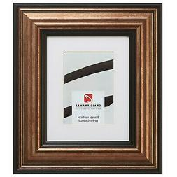 21307201 20x24 Aged Copper & Black Picture Frame Matted to D