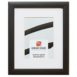23247778 16x22 Brazilian Brown Picture Frame Matted to Displ