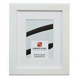 Craig Frames 26267 16x24 White Picture Frame Matted to Displ