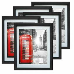 5 Pack of 8x10 Picture Frames Black Photo Frame Set Wall Han