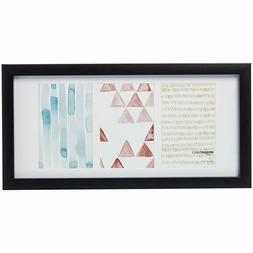 3 Photo Collage Picture Frame - 4 x 6 Display, Black