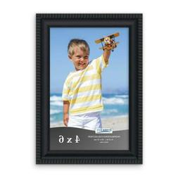Icona Bay 4x6 Picture Frames  Frame Set, 4x6, Black