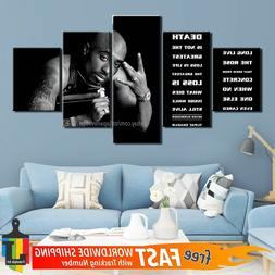 5 Piece Abstract Wall Art Canvas Home Decor Print Hiphop Sta