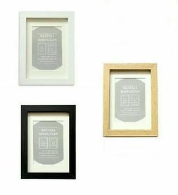 6xWooden  frames Deep in Black/White/oak with Mounts for sta