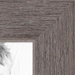 """ArtToFrames Custom Picture Poster Frame Gray Grey Rustic  1"""""""