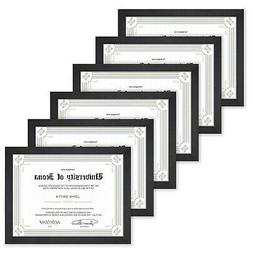 Icona Bay 8.5x11 Document Frame Pack  8.5 x 11 Certificate..