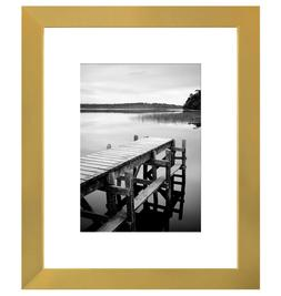 Americanflat 8x10 Gold Picture Frame - Display Pictures 5x7