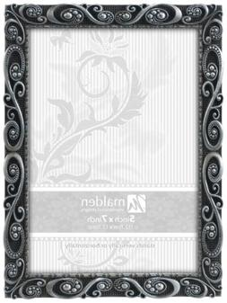 Malden International Designs Morgan Pewter Metal Picture Fra