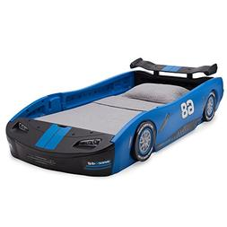 Race Car Twin Bed Frame Toddler Kids Bedroom Furniture Boys