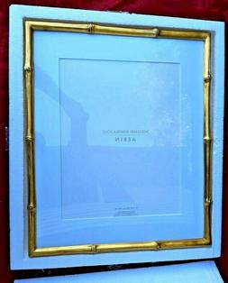 """Williams Sonoma AERIN Gilded Bamboo Gallery Frame 11"""" X 14"""""""