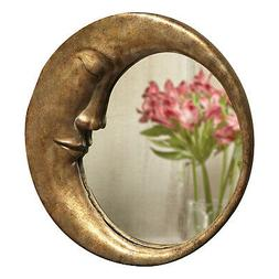 ART & ARTIFACT Crescent Moon Wall Mirror -Man In The Moon Fr