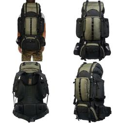 Basics Internal Frame Hiking Backpack with Rainfly