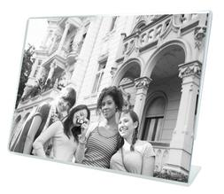 MCS 3.5x5 Inch Bent Acrylic Picture Frame, Horizontal