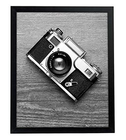 "Americanflat 16x20 Black Picture Frame - 1.5"" Wide - Smooth"