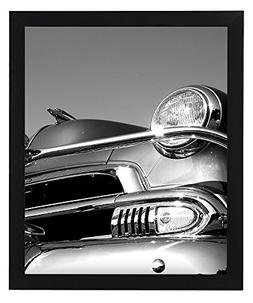 """Americanflat 18x24 Black Picture Frame - 1.5"""" Wide - Smooth"""