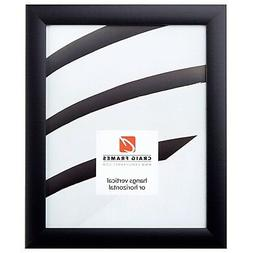 1WB3 Contemporary, Gallery Black Picture Frame - Square Size