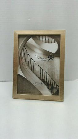 Lawrence Frames Chloe Contemporary Gold 5 x 7 Picture Frame