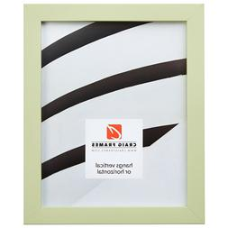 Craig Frames Confetti, Modern Light Green Solid Wood Picture