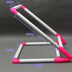 Cross Stitch Frame Tabletop Floor Stand PVC Embroidery Tapes