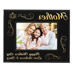 Custom Engraved Picture Photo Frame for Mom - Mothers Day Gi
