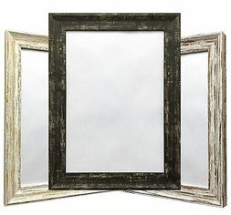 distressed wood finish photo frame picture frame