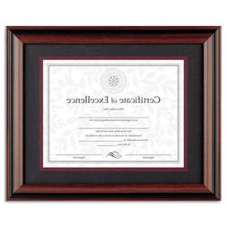 Document Diploma Certificate Rosewood Frame 11 x 14
