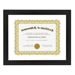Betus Elegance Wood Certificate Frame 11x14 inch Documents D