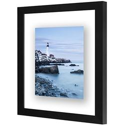8x10 Inch Floating Frame - Modern Picture Frame Designed to