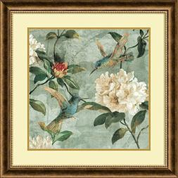Framed Art Print, 'Birds of a Feather I' by Renee Campbell: