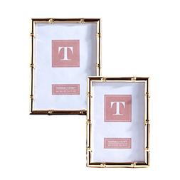 Two's Company 51446 Set of 2 Rose Gold Photo Frames