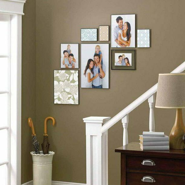 "11"" Picture Frame Wall Home Poster Black NEW"