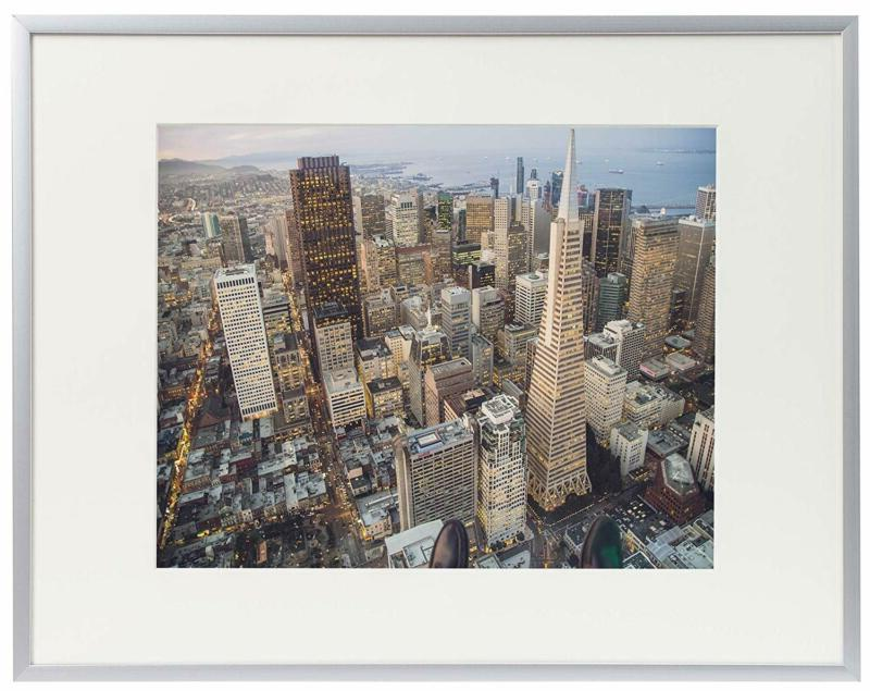 12 by 16 inch aluminum silver photo