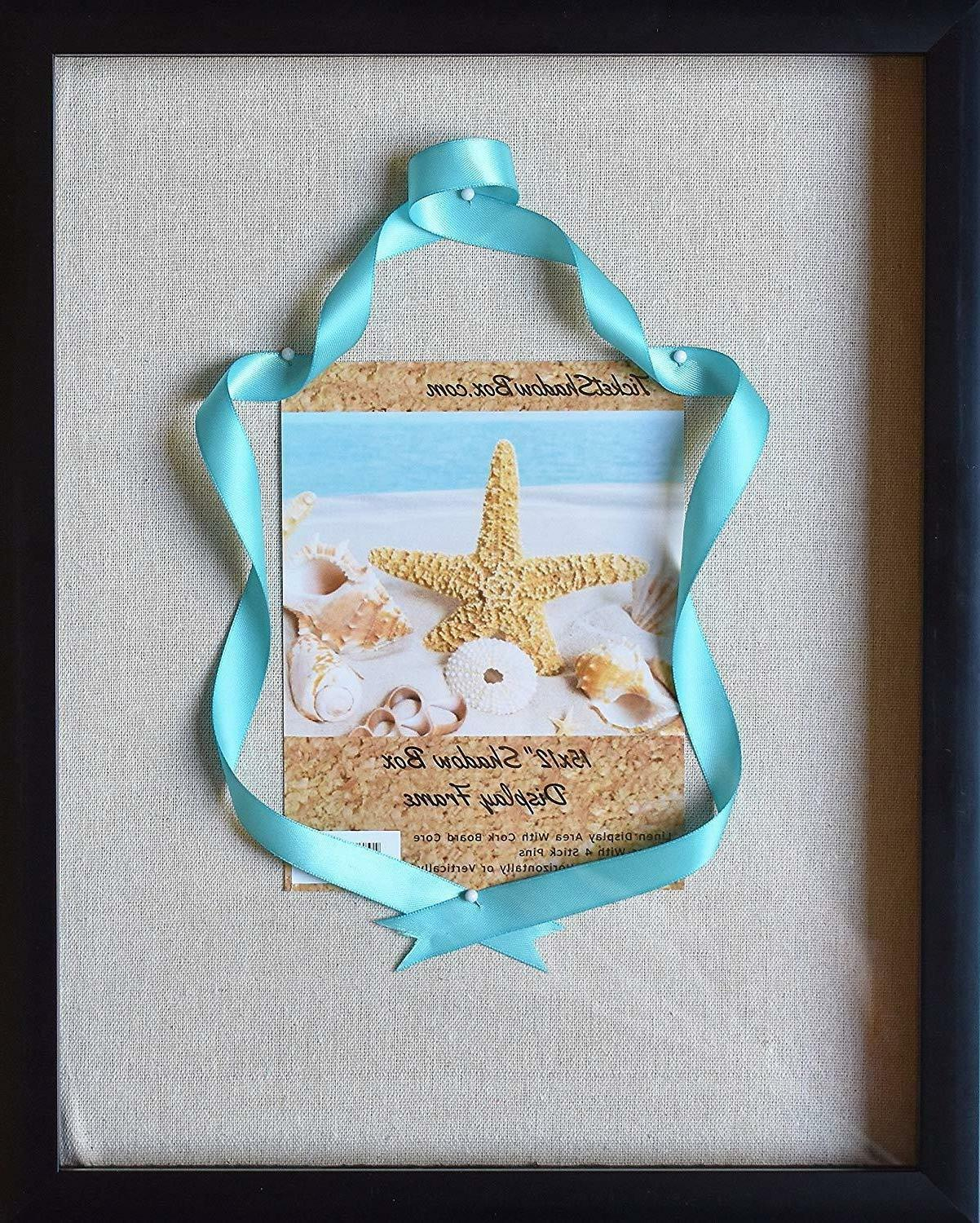 12x15 display shadow box frame with linen