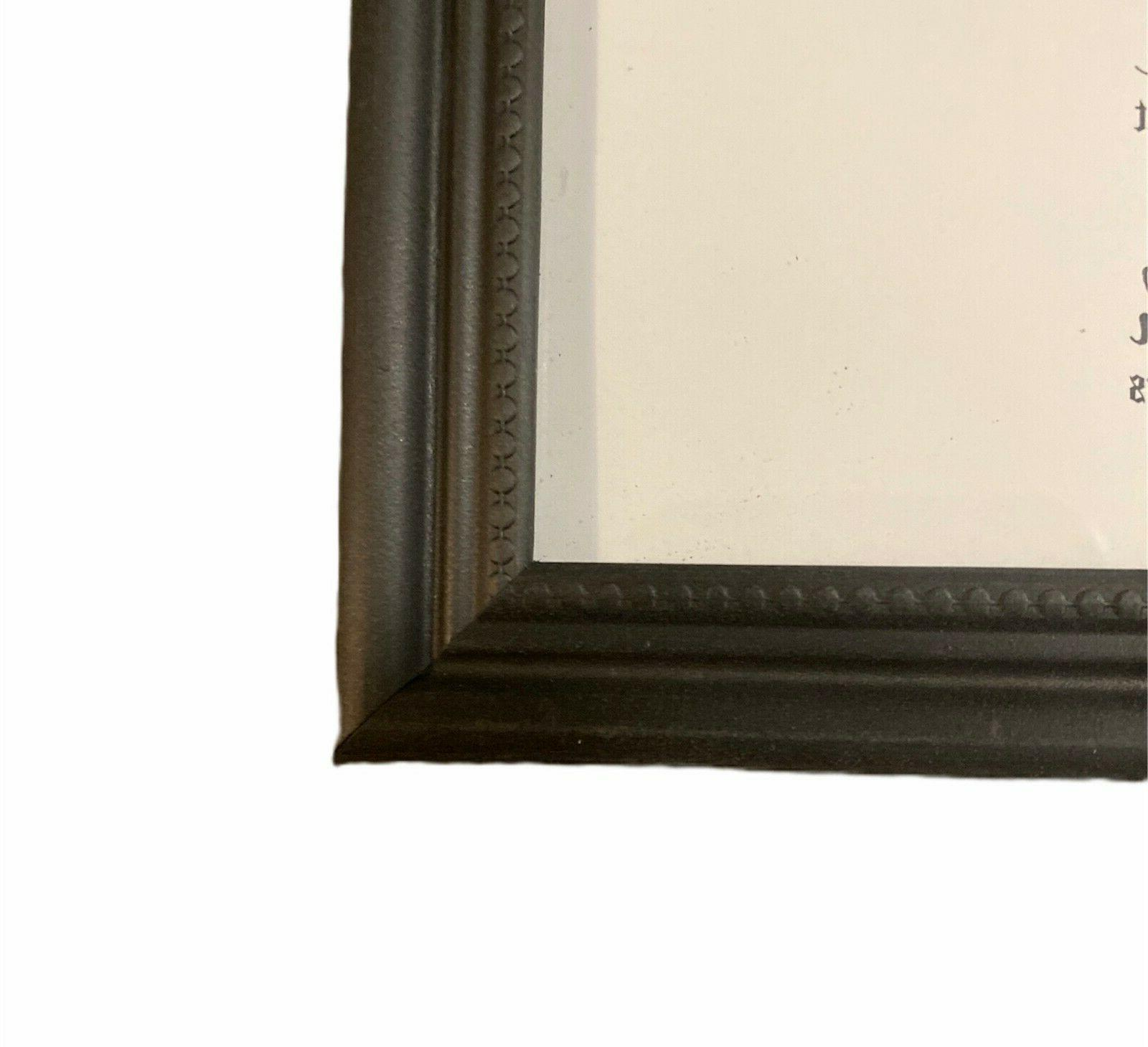 8.5x11 Brown Real Wall Mount Picture
