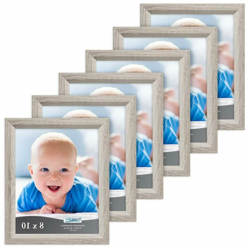 Icona Bay 8X10 Picture Frame , Black Photo Fr