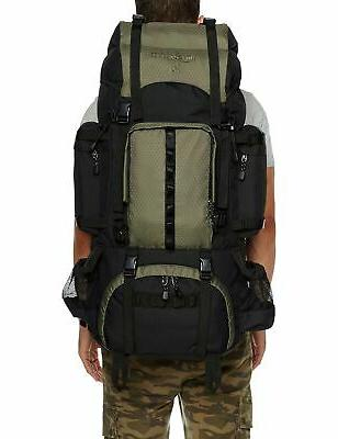 AmazonBasics Internal Frame Backpack with 75 L Green