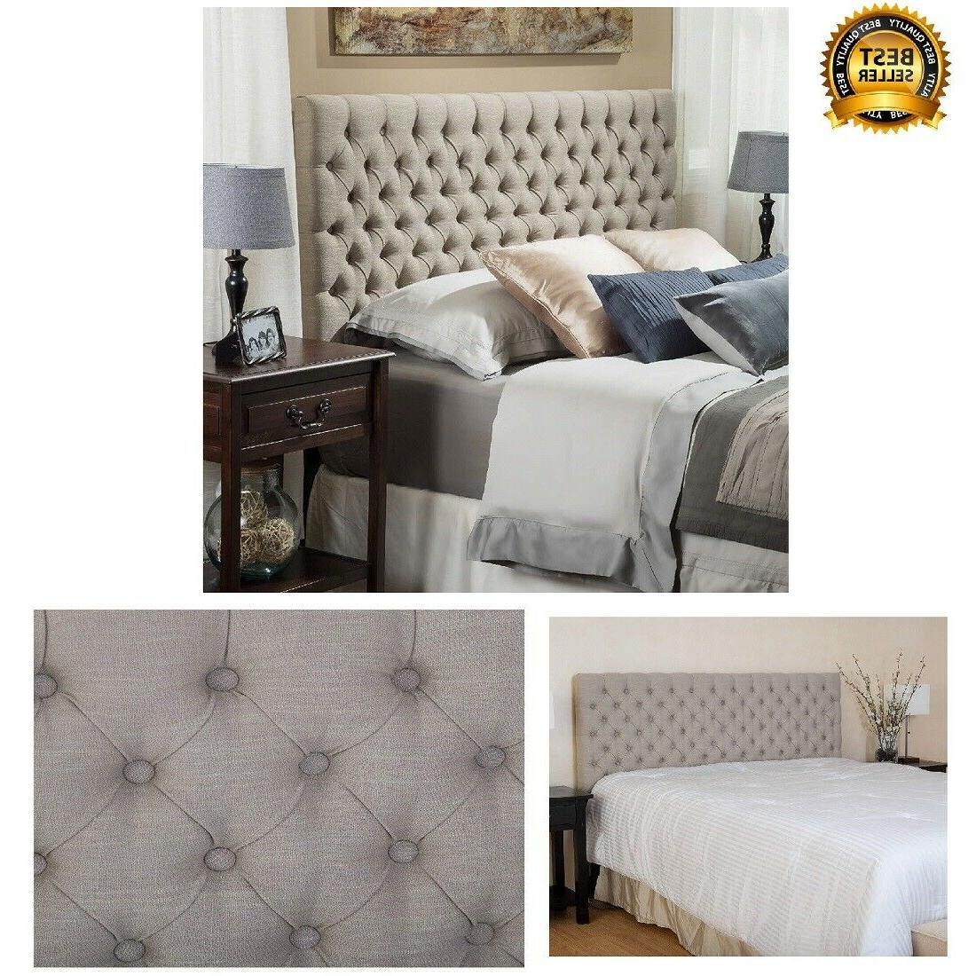 Christopher Knight Home bed frames Jezebel Tufted Fabric Hea